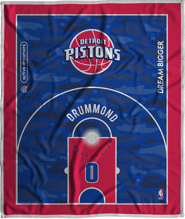 Andre Drummond Court Series Blanket
