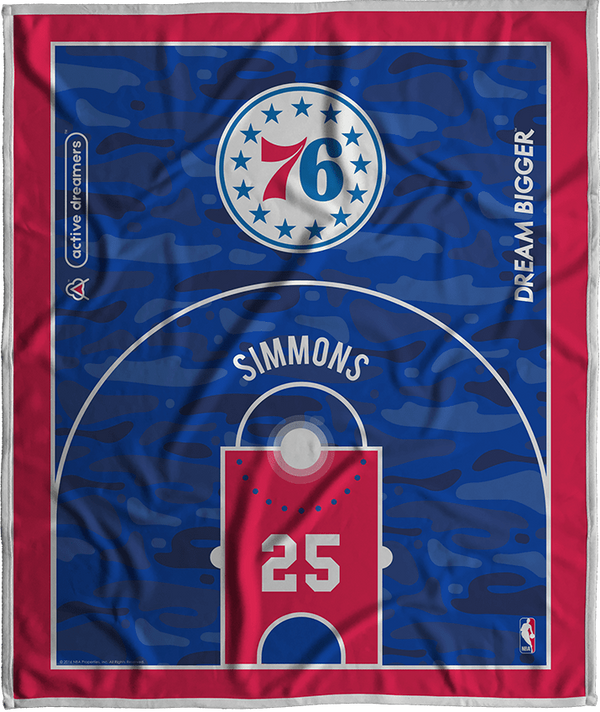 Ben Simmons Dream Court Series Blanket