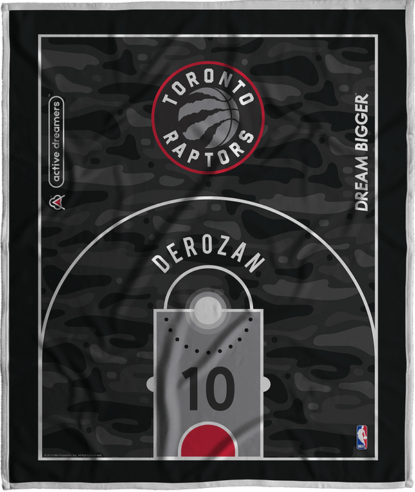 Demar Derozan Dream Court Series Blanket