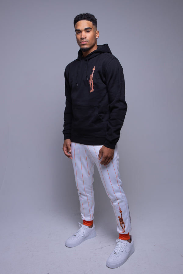 For the Love Hoodie Orange