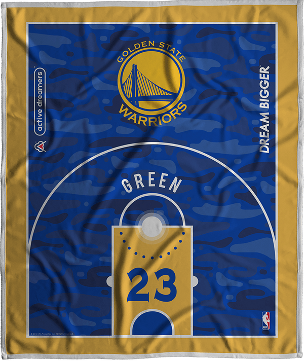 Draymond Green Dream Court Series Blanket