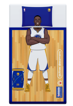 Draymond Green Reversible Blanket & Pillow Case Set
