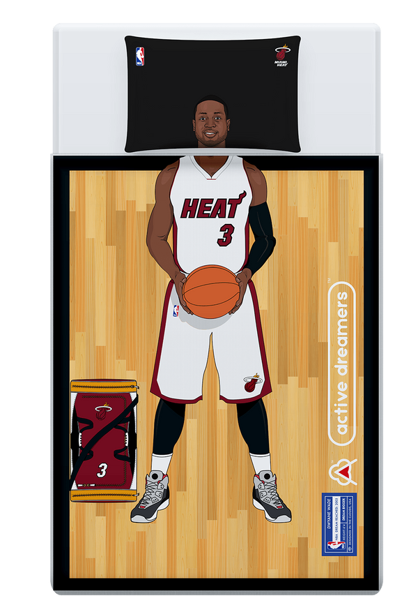 Dwyane Wade Reversible Blanket & Pillow Case Set