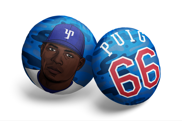 Yasiel Puig Pillow Head Alt