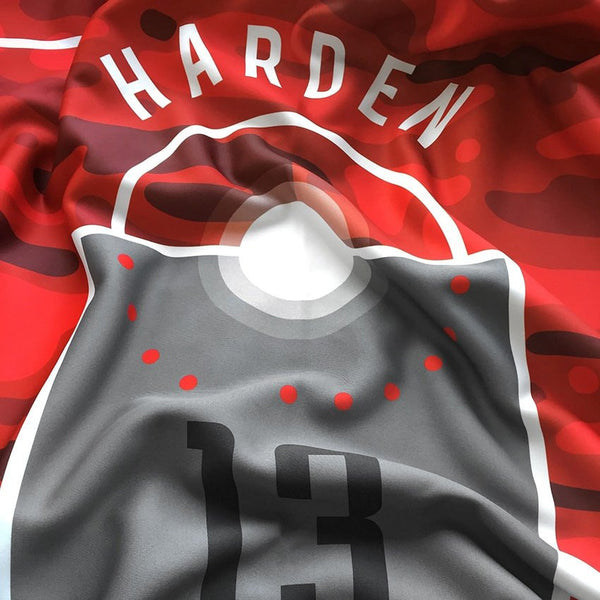 James Harden Dream Court Series Blanket