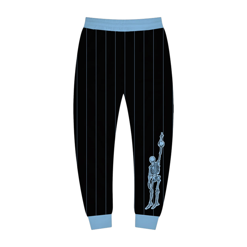 Black and Baby Blue Sport Jogger