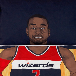 John Wall Reversible Blanket & Pillow Case Set