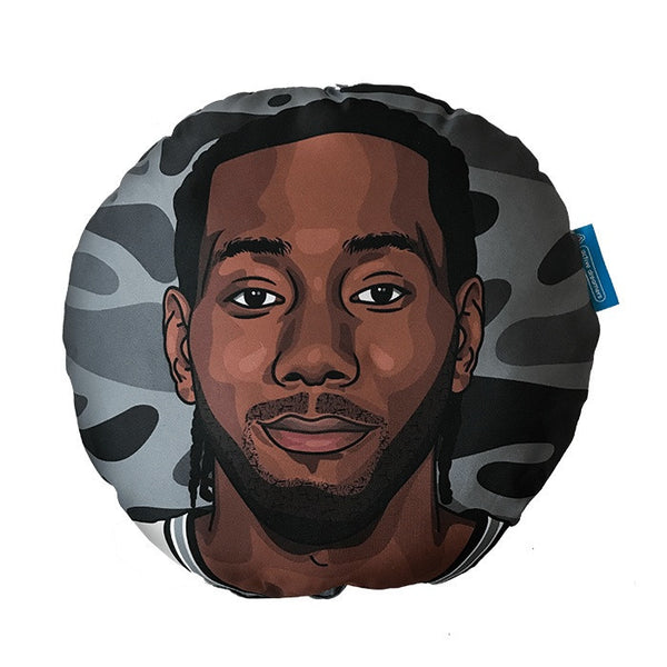 Kawhi Leonard Pillow Head