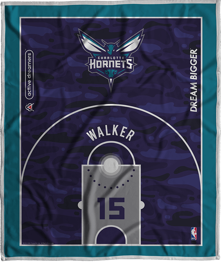 Kemba Walker Court Series Blanket