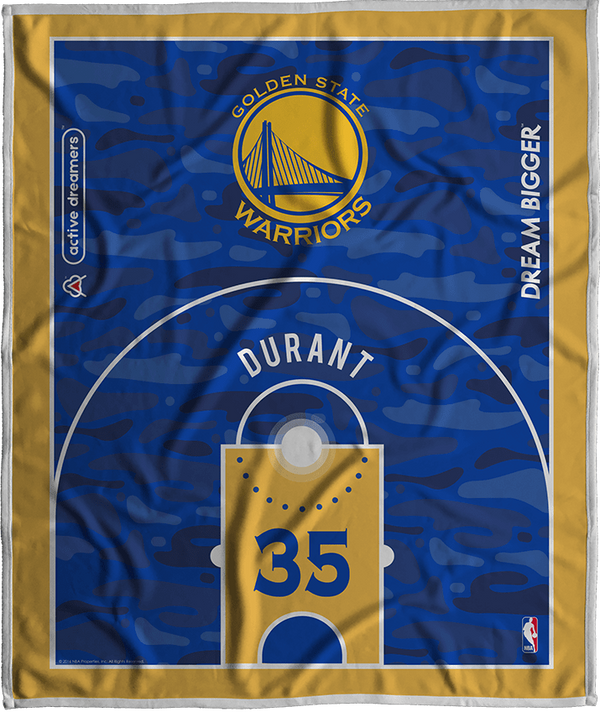 Kevin Durant Dream Court Series Blanket