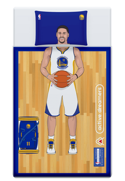 Klay Thompson Reversible Blanket & Pillow Case Set