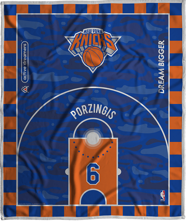 Kristaps Porzinigis Dream Court Series Blanket