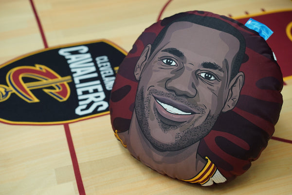 Lebron James Pillow Head