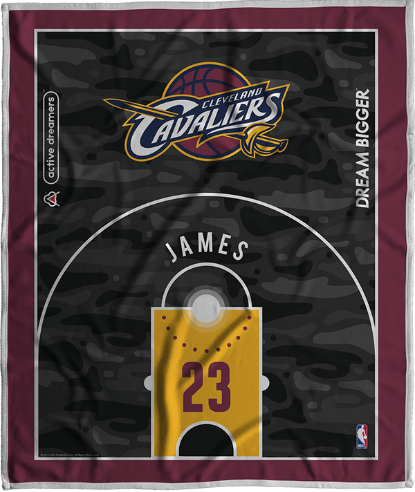 Lebron James Dream Court Series Blanket