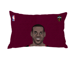 Lebron James Pillow Case Face