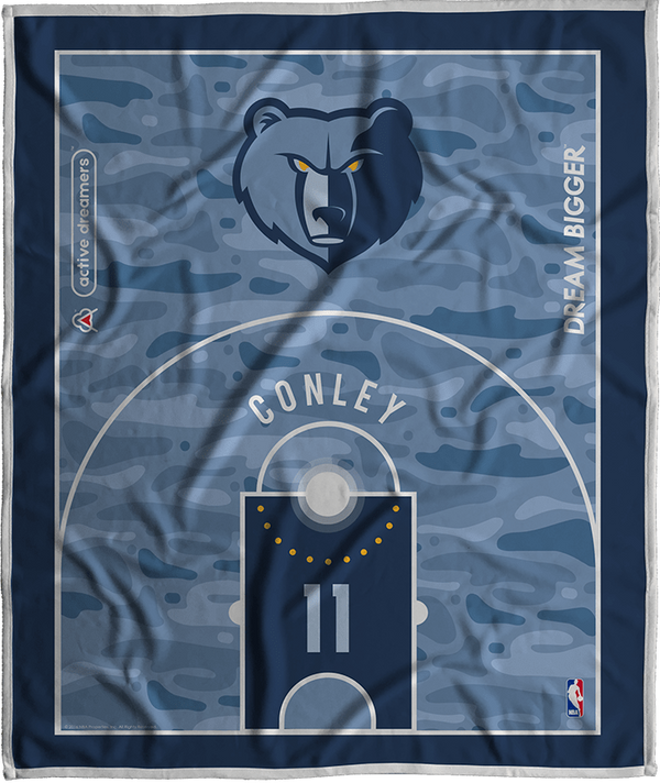 Mike Conley Dream Court Series Blanket