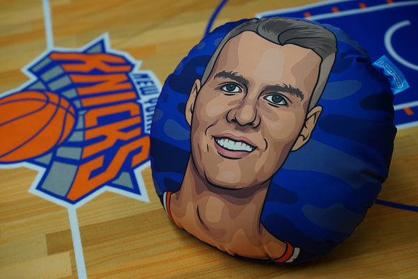 Kristaps Porzinigis Pillow Head