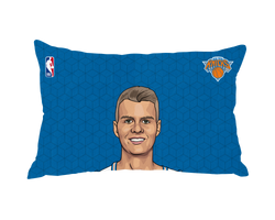 Kristaps Porzingis Pillow Case Face