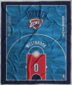 Russell Westbrook Dream Court Series Blanket