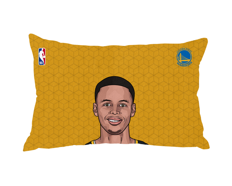 Steph Curry Pillow Case Face