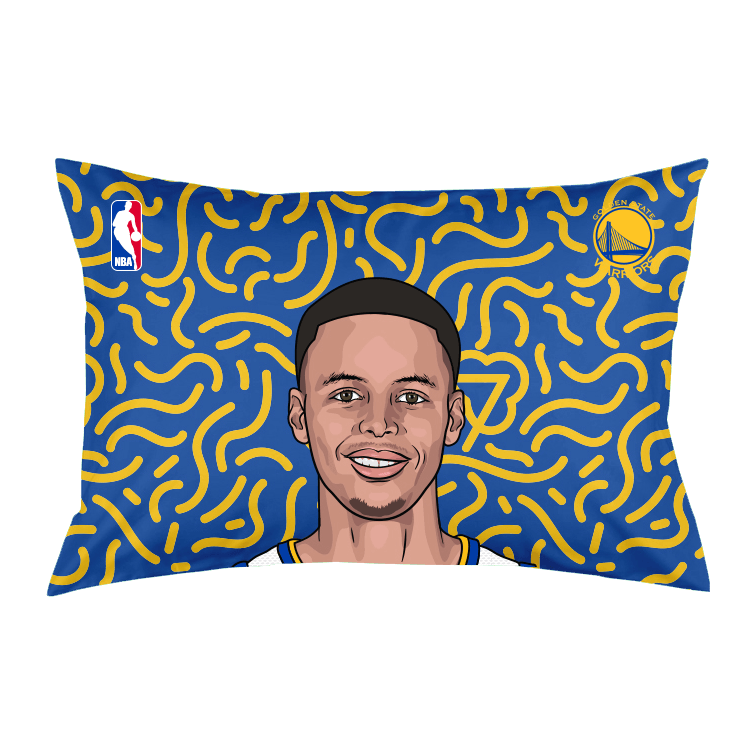 "Stephen Curry ""Dedication"" Pillow Case"