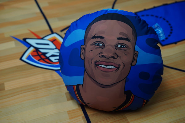 Russell Westbrook Pillow Head