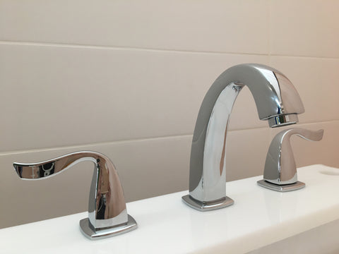 DANA  |  Double Handle, Solid Brass, Bathroom Faucet - Westmount Waterworks