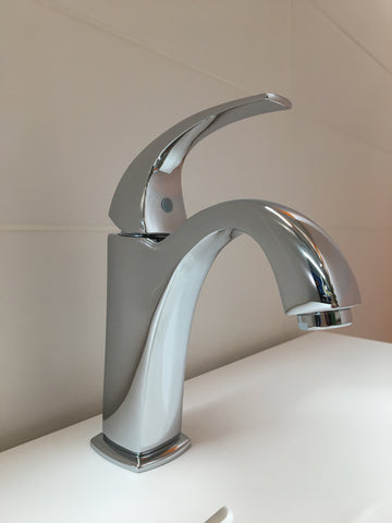 NADIA  |  Single Lever, Solid Brass, Bathroom Faucet - Westmount Waterworks