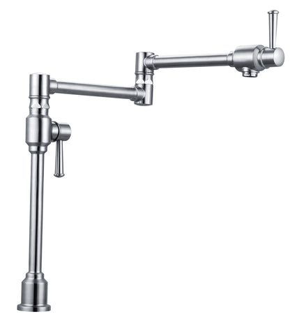 WENTWORTH  |  Counter-top, Solid Brass, Mounted Pot Filler - Westmount Waterworks