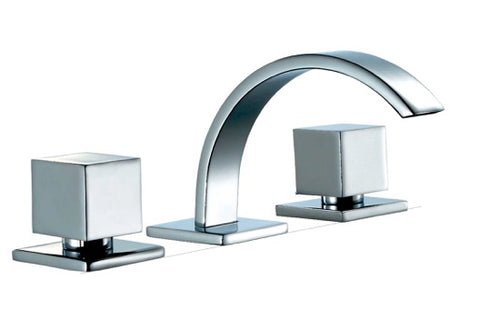 IRISH  |  Double Handle Bathroom Faucet - Westmount Waterworks