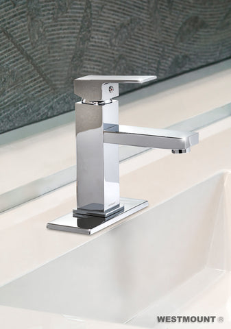 DEBRA   | Single Lever, Solid Brass, Bathroom Faucet - Westmount Waterworks