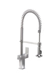 WINDSOR  |  Single Lever, Solid Brass, Pull Down Kitchen Faucet - Westmount Waterworks
