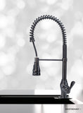 CHLOE ANTIQUE FINISHED |  Single Lever Pull Down Kitchen Faucet - Westmount Waterworks