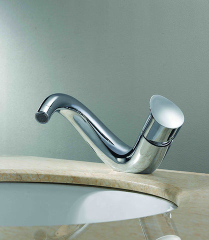 Madison  |  Single Lever, Solid Brass, Bathroom Faucet - Westmount Waterworks