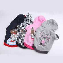 Dog Clothes Jackets Coat Pet Clothing Plaid Grid T-Shirt Lapel Costume Apparel Spring Autumn Summer Clothing Cat Cloth chihuahua