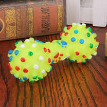 Squeaky Faux Bone Pet Chew Toys For Dogs