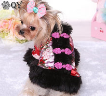 QY NEW Winter Warm Cute Soft Tang suit Dog Coats & Jackets Sweater Clothing For Dogs Puppy Dog Cat Pet Clothes Apparel-XL