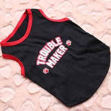 Sports Style Breathable Dog Vest Printed T Shirt