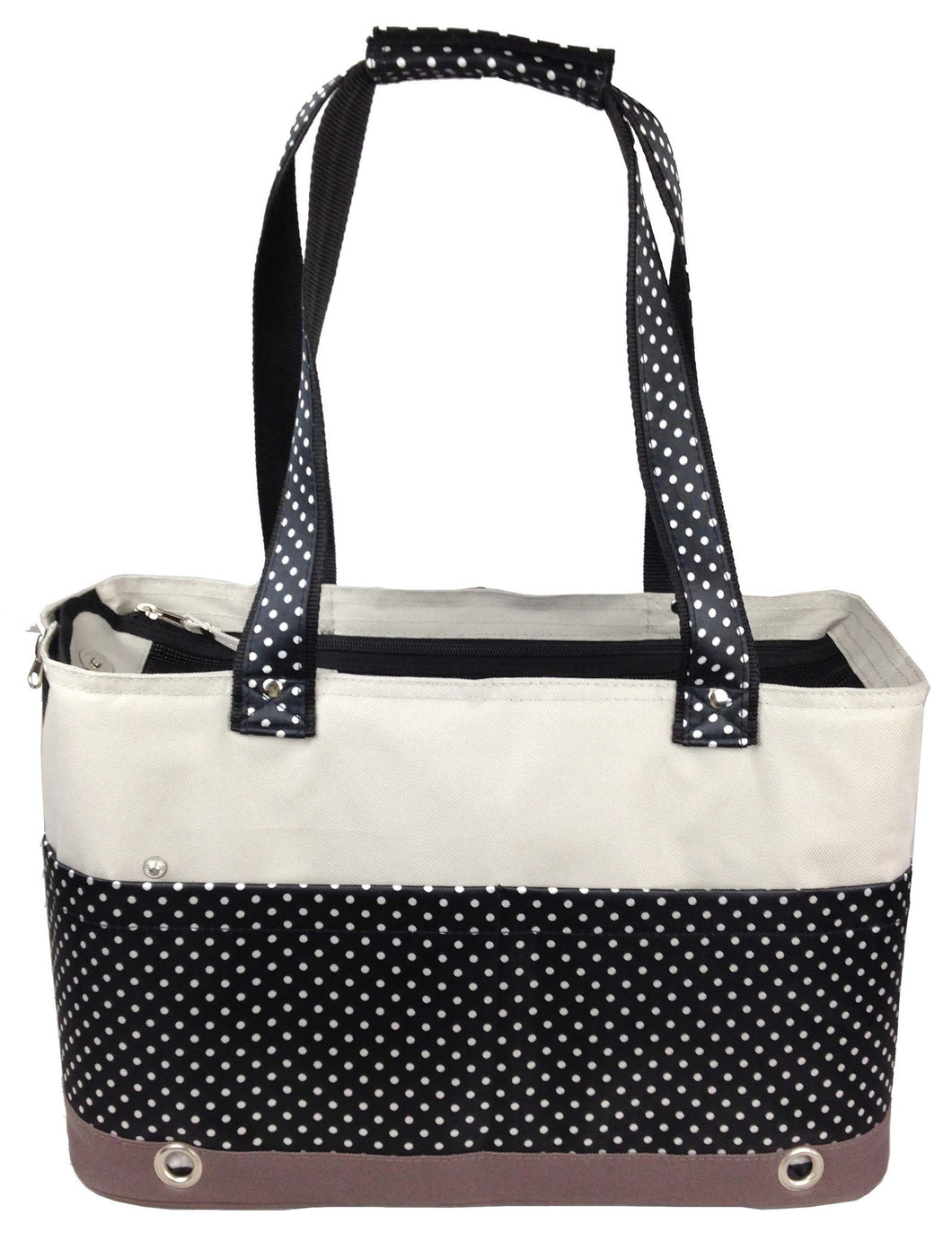 Fashion Tote Spotted Pet Carrier- As Displayed