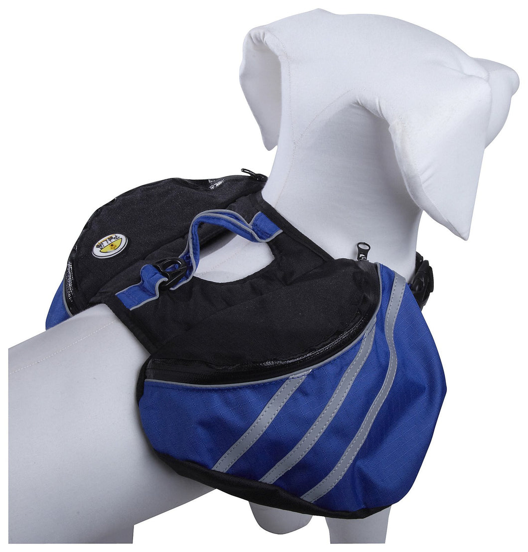 Everest Pet Backpack- Blue: Small
