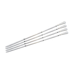 Tanica Barbeque Tusukan Sate 29cm Set 4 Pieces  - Stainless Steel