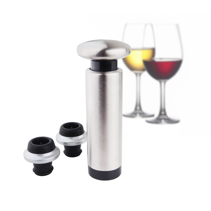 Tanica Wine Vacuum Pump and Stopper / Pompa vakum anggur