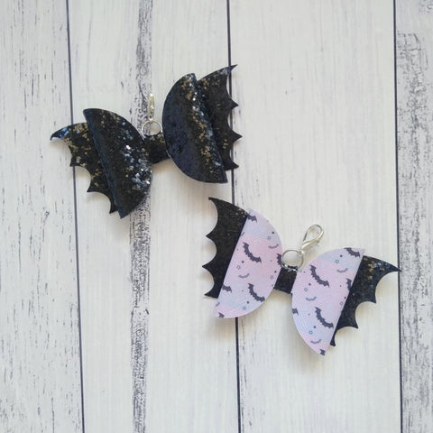 Bat charms Spotlight on a Planner Little Tabby Co September 2019