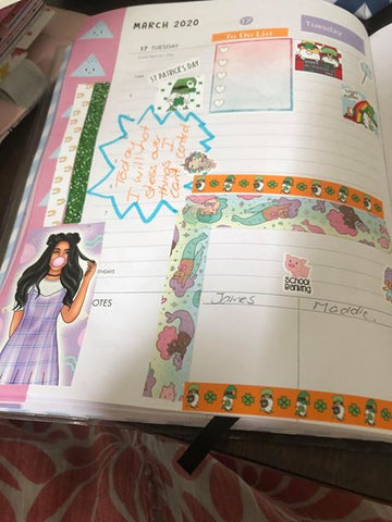 Spotlight on a Planner Frankie Taylor March 2020 Planner pic 8