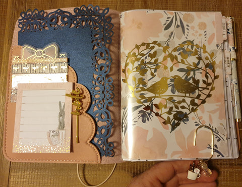 Katie Ferrett Spotlight on a Planner December 2019 planner layout
