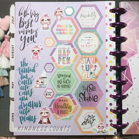 Spotlight on a Planner Kelley Dowling Planner 7