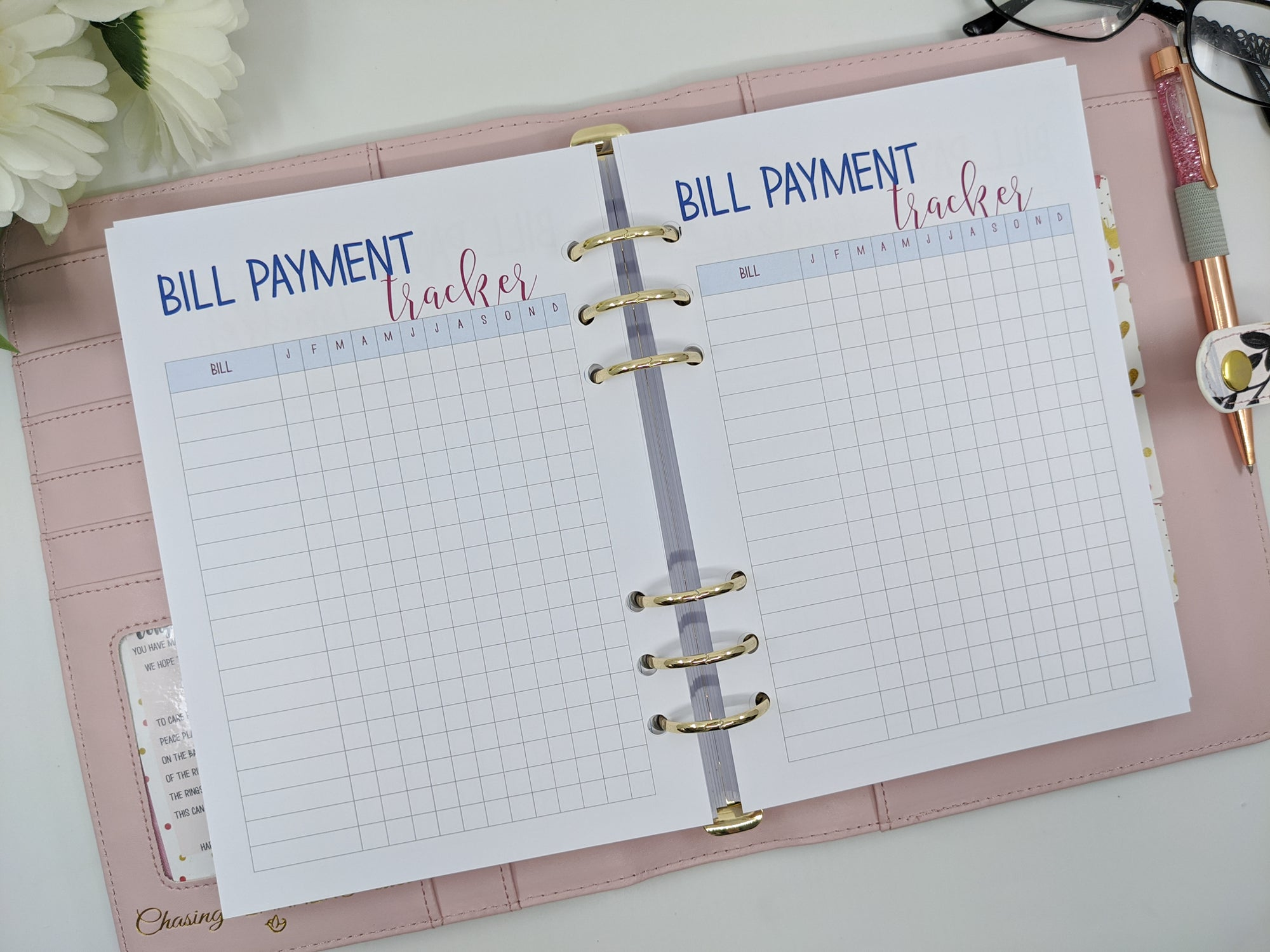 A5 Budget/Finance planner bundle