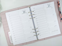 A5 Daily Planner Refill | Productivity Focused