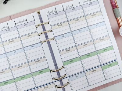 A5 Planner Pet Bundle (Full Set)
