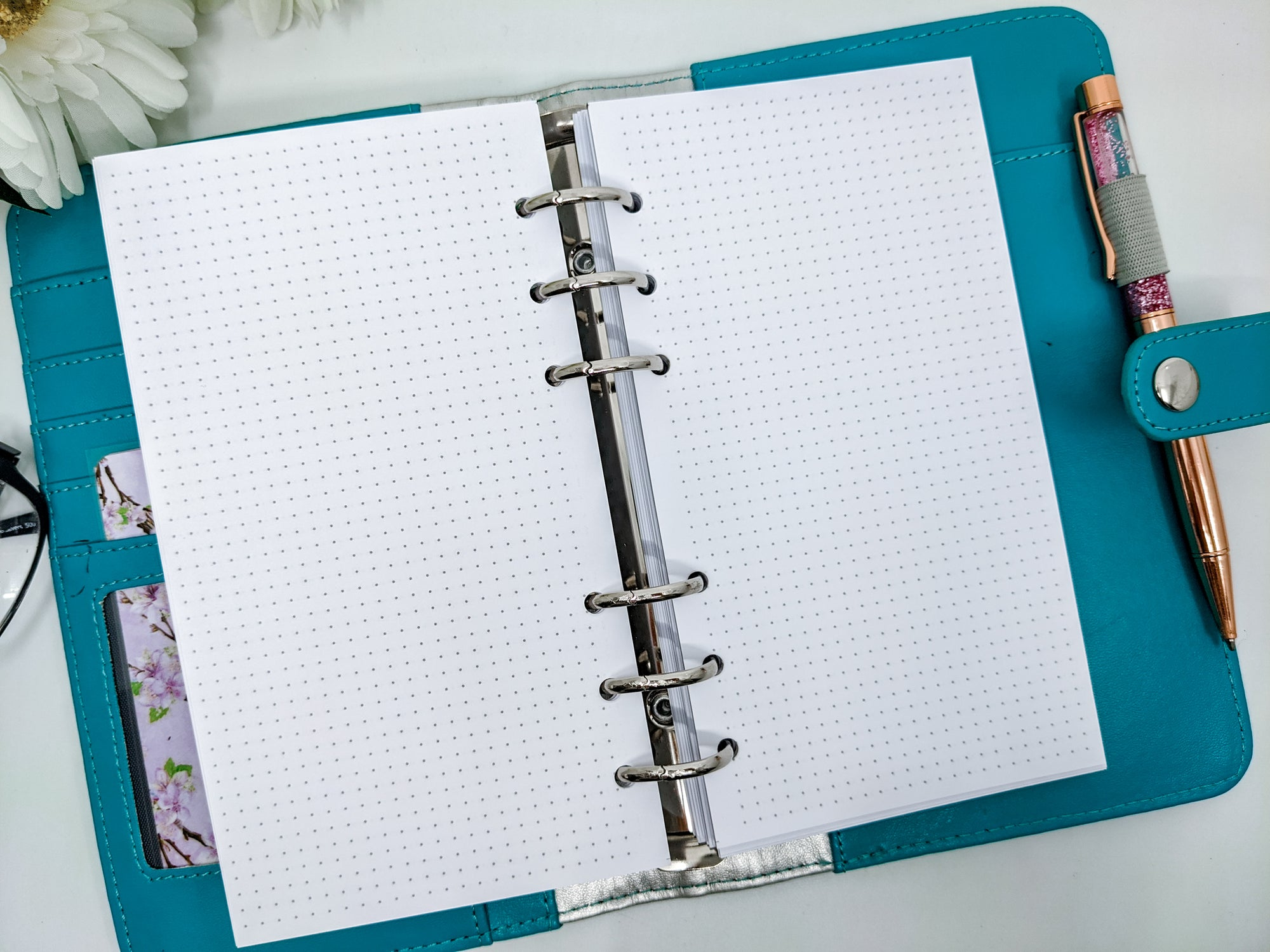 Personal size dot grid paper